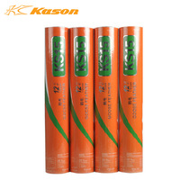 Badminton Shuttlecocks Kason KS15 Training Badminton Shuttlecocks wholesale 100% Authentic Goose Feather