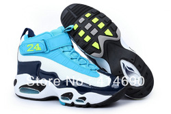 Free Shipping Wholesale&amp;Retail Brand Foamposites Basketball Shoes Cheap Ken Griffey Shoes Super A+ Quality 10 Colors(China (Mainland))