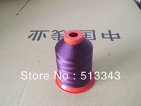 leather sewiing thread,polyester bonded filament   for shoes and sofa,tent ,hat ect.