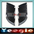 New A Pair False Vent Net Car Air Flow Hood modified Stick Adornment 6B11
