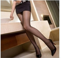 Free shipping 4 colors high quality wrap core silk women's tights stockings pantyhose, 20pcs/lot consumer pack(China (Mainland))