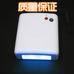 Finger light therapy machine nail art heliotherapy machine phototherapy lamp nail art 36 tile light therapy machine 818 nail art(China (Mainland))