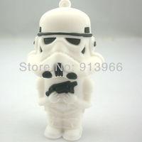 Free Shipping! 16GB Star Wars Storm Trooper USB Pendrive, 100% Full Capacity