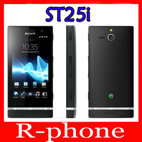 Original Sony Xperia U ST25i Mobile Phone Unlocked ST25i Dual-core phone 3G GSM WIFI GPS 5MP & one year warranty(China (Mainland))