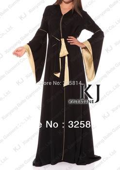 Promotion!! Wholesale/retail muslim abaya/jilbab islamic clothing for women fashion girl styled dubai long dress,Free shipping