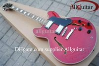 best Musical Instruments red 355 jazz Hollow electric guitar China Guitar