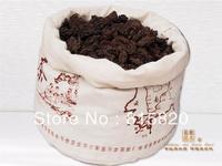 2000year LaoChatou,1000g MengHai old tree Laochatou, loose Ripe puer tea,free shipping
