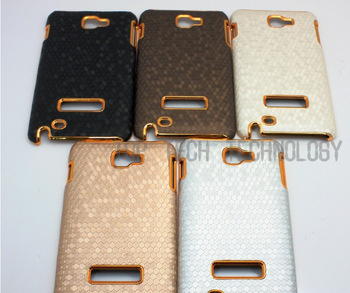 Luxury Chrome Case for Samsung Galaxy Note i9220 N7000 Hard Back Mobile Phone Case Free Shipping