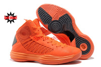 Fast Shipping Wholesale Famous Trainers Lunar Hyper X 2012 Men's Sports Basketball Shoes (bright orange/ univercity gray)