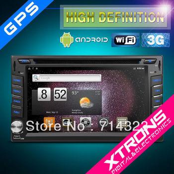 "XTRONS TD610A 6.2"" 2 Din In Dash Car GPS DVD Player Hyundai Santa Fe Tucson Sonata Elantra Android 3G WiFi Navigation Bluetooth"