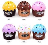 free shipping Ice cream tissue box 6 colors cake shape paper box