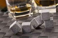 Whisky Stones, 9pcs/set with delicate box+ velvet bag whiskey rock stone cube stone,Free shipping