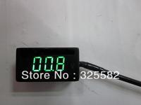 Green LED DC 100V HHO Solar Golf car Digital Volt Meter