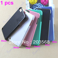 Free Shipping! 3 Colors Solid Color Smooth Hard Plastic UV Case Cover Skin Protector For iPod Touch 5 5G