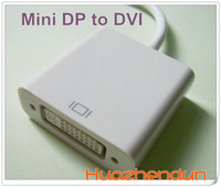 Mini DisplayPort DP To DVI Adapter Cable For Apple MacBook Pro , free shipping 1PCS