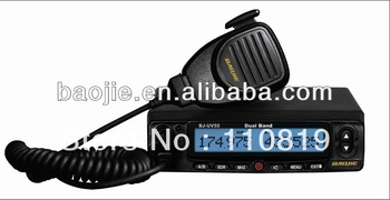 Professional 45W/35W dual band VHF/UHF mobile radio car radio  BJ-UV55