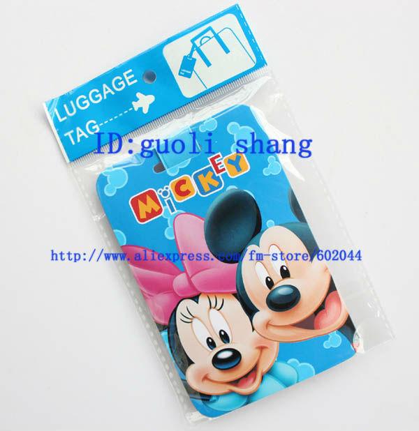 gratuite 24 pcs mickey& id titulaires de carte de mode/carte d'id