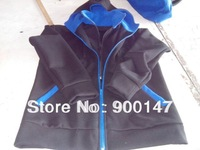 men's fashion style high-quality dual zipper hoodies