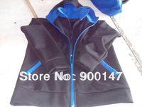 men's fashion style high-quality dual zipper hoodies