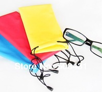 B Factory Price Wholesale Water-Proof Multi Purpose Microfiber Sunglasses Bag Eyewear Pouch With Drawstring  20Pcs/lot 10Colors