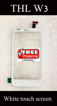 THL W3 Original Touch Screen Digitizer/Replacement for THL-W3 white Touch Panel Free Shipping