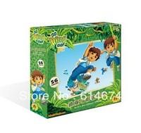 Diego puzzle- jigsawpuzzle--Free shipping!!!--56pcs puzzle game