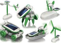 Diy six ecumenical assembling toys solar toy six ecumenical puzzle toy 177