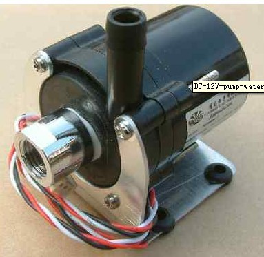 NEW DC 12V pump water cooler motors speed line No Brushless(China (Mainland))