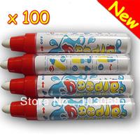 New arrival 100 Aqua doodle Aquadoodle Magic Drawing Pen Water Drawing Pen Replacement Mat Free Shipping