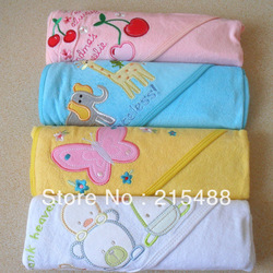 Carters Towl Terry Bathrobe Baby Hold Blanket Bathing Towels 100% Cotton Towel(China (Mainland))