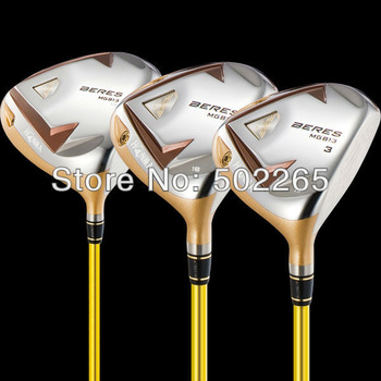 3pc/lot Honma MG803 Golf Club 1pc driver 9 or 10 degree or 2pc 3#/5# wood ARMRQ UD54 Shaft Stiff/Regular flex