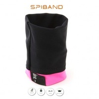 Free Shipping 1piece High elastic Outdoor Movement Storage of wrist Bracers Female models(stock color red)