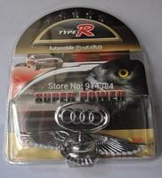 Used  For CAR  Eagle Stand Mark Car Chrome Logo Hood Ornaments Badge Emblem (1piece)