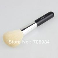 Top Hair Brushes Hair Natural Goat Hair Brush 2pcs/lot Wool Blush Brush Pink Make Up Brushes 013