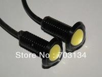 Larger Lens Eagle eye DRL Lamp 9W 12V Power led car reversing backup light Auto Rear tail stop daytime running lantern