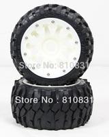 The new style nylon rear off-road  tires kit for 23cc 26cc 29cc 305cc 5B bajas Freeshipping