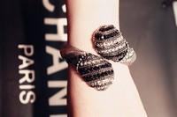 Free shipping1 lot/10pcs luxury angela fay jewelry charm bracelet  cuff snake bangle