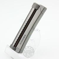 Cohiba lighter windproof straight lighter mini titanium gift box set