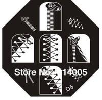 12pcs per lot new come nail art image plates D1-24 series templates