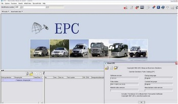 Benz Truck EPC 2012 / Mecredes-Benz truck spare parts 2012 DVD