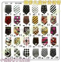 Free shipping 50pcs children tieS Child necktie Boys Girls Ties Baby scarf neckwear neckcloth/tie