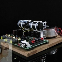 To force super-strength noise / high-power ring cattle four amplifier 220V amplifier board / Fan speakers computer amplifier