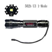 New!!501B U3 Ultrafire WF-501B Cree XM-L U3 1300 Lumen 5-Mode LED Flashlight (1*18650) + free shipping Via Post Airmail