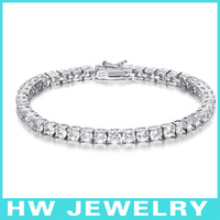 40162 3.75mm 925 sterling silver tennis bracelet