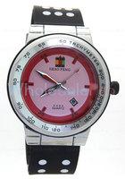 Men's SHAO PENG Quartz Date Black Wrist Watch