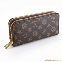 Wholesale fashion double purse QB002 double Unisex free shipping
