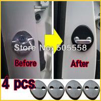 4pcs/set Hyundai 2010 2011 2012 Tucson ix35 Door Striker Cover Lock Catch Protect Cover