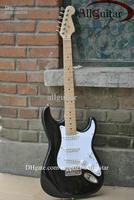 HOT SALE black st Eric Clapton Signature Maple fingerboard electric guitar