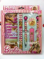 Канцелярский набор / подарочная коробка Novetly Fashion Cartoon 5pcs/set Lovely printing School Supplies Gift Box Pencil Stationery Set