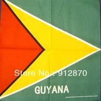 Guyana bandana good quality Guyana  flag bandana for whole sale